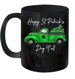 Green Truck With Shamrocks Happy St Patrick's Day Y'all Mug