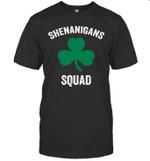 Shenanigans Squad Funny St Patrick's Day Gift Shirt