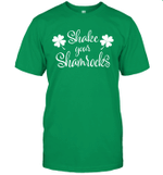 Shake Your Shamrocks Funny St Patrick's Day Irish Shirt