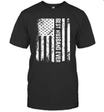 Best Husband Ever American Flag Gift Father's Day Shirt