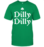 Dilly Dilly St Patrick's Day Clover Funny Beer Holiday Shirt