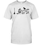 Love Nine Three Quarters For Women Graphic Short Sleeve Shirt For Men Tee Funny Summer T Shirt