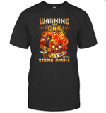 Warning This CNA Doesn't Play Well With Stupid People Shirt