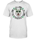 Golden Retriever Irish Creme Shamrock Dog St Patrick's Day Shirt