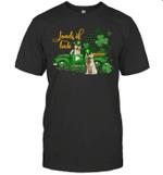 Loads Of Luck Truck Golden Retriever St Patrick's Day Shirt