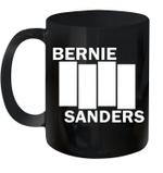 Bernie 2020 Not Me Bernie Sanders Black American Flag Mug