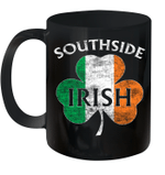 Chicago Southside Irish Flag St Patrick's Day Mug