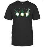 Three Irish Gnomes Leprechauns Shamrocks St Patrick's Day Gift Shirt