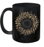 Cool Cheetah Leopard Print Sunflower Gift Mug