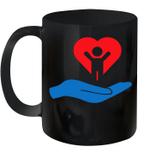 Autism Awarness My Hand Heart Gift Mug