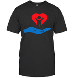 Autism Awarness My Hand Heart Gift Shirt