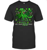 Dinosaur T-Rex Happy St. PatRexday Patrick's Day Shirt