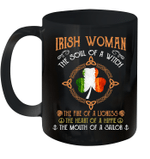 Irish Woman The Soul Of A Witch Irish Flag St Patrick's Day Mug