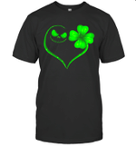 Jack Skellington and Irish Four Leaf Clover St Patrack's Day Shirt