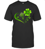 Celtic Cross And Irish Four Leaf Clover St Patrack's Day Shirt