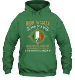 Irish Woman The Soul Of A Witch Irish Flag St Patrick's Day Shirt