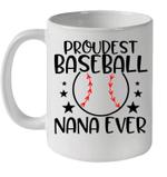 Baseball Grandma Proud Baseball Nana Family Game Day Mug