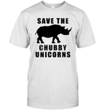 Funny Save The Chubby Unicorns Shirt