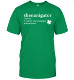 Shenanigator Definition Shenanigans St Patrick's Day Funny Shirt