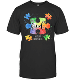 Be Kind Puzzle Pieces Cute Autism Awareness Shirt