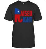 Raised Right Trump 2020 Republican Conservative Shirt