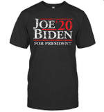 Joe Biden For President 20 Vintage 2020 Shirt