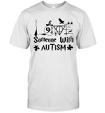 Potter Love Someone With Autism Awareness Gift Shirt