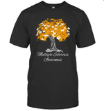 Multiple Sclerosis Awareness Tree Hope And Strength Shirt