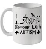 Potter Love Someone With Autism Awareness Gift Mug