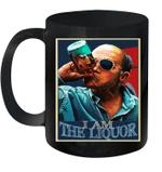Retro Vintage I Am The Liquor Funny Quote Gift Mug