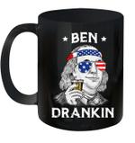 Ben Drankin Benjamin Franklin 4th Of July Mug