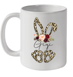 Leopard Bunny Gigi Easter Day Rabbit Funny Happy Easter Day Mug