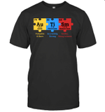 Autism Awareness Puzzle Chemical Element Shirt