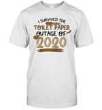 I Survived The Toilet Paper Outage Of 2020 Funny Shirt