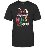 Hoppiest Nurse Ever Easter Pascha Christian Gifts Shirt
