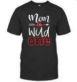 Mom Of The Wild One Buffalo Plaid Lumberjack 1st Birthday Shirt