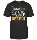 Grandma Of Mr Onederful 1st Birthday First Onederful Shirt