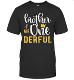 Brother Of Mr Onederful 1st Birthday First Onederful Shirt