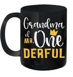 Grandma Of Mr Onederful 1st Birthday First Onederful Mug