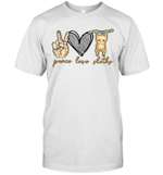 Peace Love Sloths Funny Sloths Lover Gifts Shirt