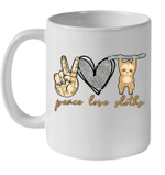 Peace Love Sloths Funny Sloths Lover Gifts Mug