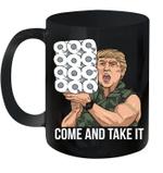 Trump 2020 Commando Toilet Paper Donald Trump America Mug