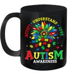 Autism Awareness Shirt Accept Understand Love Autism Mom Mug