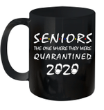 Seniors The One Where They Were Quarantined 2020 Mug