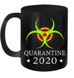 Quarantine 2020 Bio Hazard Distressed Community Awareness Mug