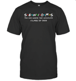 Senior Class 2020 The One Where They Graduate Class Of 2020 Shirt