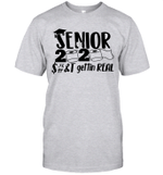 Senior 2020 Shits Gettin Real Funny Toilet Paper Apocalypse Shirt