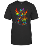 Don't Be Afraid To Show Your True Color Dragon Lover Gifts Shirt