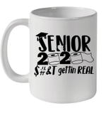 Senior 2020 Mug Gettin Real Funny Toilet Paper Apocalypse Coffee Mug