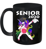 Unicorn With Toilet Paper Graduation Senior Class Of 2020 Mug